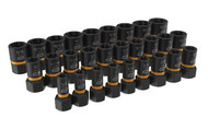 "28 Pc. 1/4"" & 3/8"" Drive Bolt Biter™ Impact Extraction Socket Set KDT-84784"