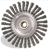 4 x .020 x 5/8-11 Knot Wheel Stringer Bead Twist, Tempered Wire
