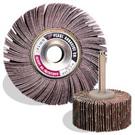 1 x 1 Aluminum Oxide Flap Wheels ,10/Box A120