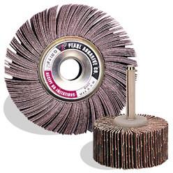6 x 1 x 1 Aluminum Oxide Flap Wheels , A80