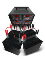 Schumacher DSR125 6/12V 4 Bank Charging Station