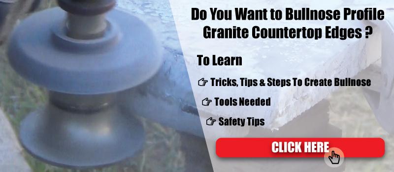 How to Create Bullnose on Granite countertop Edges