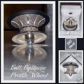 DIAMOND PROFILE WHEEL ROUTER BIT DEMI BULLNOSE 30 MM V30