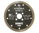 "Stadea Diamond Saw Blade For Granite Quartz Cutting, Series Standard G - Available Sizes 5"", 6"""