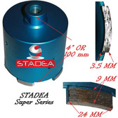 Granite Masonry Concrete hole saw core bits by Stadea - 82mm or 3 1/4""