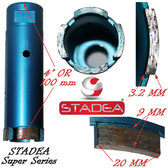 STADEA diamond hole saw core diamond drill bit for concrete masonry granite stone coring drilling - 42 mm or 1 5/8""