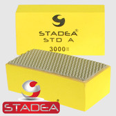 Stadea Diamond Hand Polishing Pads For Concrete Hand Polishing Glass Stone Granite Marble Grit 3000