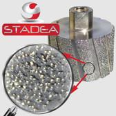 STADEA Diamond Drum Wheel Grinding Sanding Wheels Stone Granite Concrete Marble, 3 Inch DDWW03STDA58001P