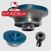 "STADEA Granite Diamond Router Bits Radius 3/8"" Demi B10 Edge Profile for Stone Marble Concrete"