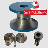 "Full Bullnose Router Bits Diamond Coated Tipped 3/4"" V20 for Granite Stone Marble Stone Bit By STADEA"