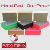 Stadea Diamond Hand Polishing Pad for Glass Marble Concrete Stone Travertine polishing, Any Grit 1 Piece
