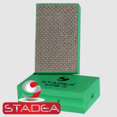 Stadea Diamond Hand Pads Glass Marble Stone Concrete Granite Polishing Sanding, Grit 50 Series Super A