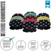 "Stadea Diamond Floor Polishing Pads 4"" For Stone Concrete Floor Wet Polishing, Series Standard S"