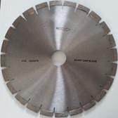 "Diamond Bridge Saw Blade For Granite Quartz Wet Cutting With Silent Core - Sizes 12"", 14"""