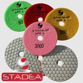 Stadea Dry Diamond Polishing Pad 5 Inch Granite Concrete Stone Glass Polishing