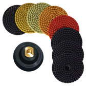 "Stadea Diamond Polishing Pads 4"" Granite Polishing Kit, Series Ultra D"