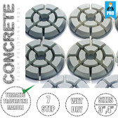 Stadea Diamond Floor Polishing Pads Concrete Stone Floor Polishers Polishing, Series Crt J