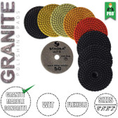 "Stadea 4"" Diamond Polishing Pad Set Granite Quartz Polishing Pad, Series Ultra D"