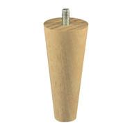 Urban Hardware raw Tasmanian Oak tapered leg 100mm