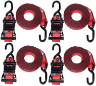 Straps2go Tie Down Ratchet Strap SR386 4 Pack