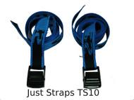 Just Straps® 25mm Ladder Strap 1.2 metre pair