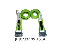 Just Straps 36mm/1.5metre Cam Buckle strap