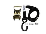 Just Straps Tie Down Ratchet M/Duty bolt on 25mm / 1.8metre