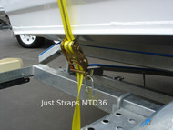 Just Straps Over Boat 5.5metre Medium Duty Ratchet