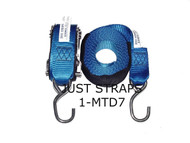 Just Straps Stainless Steel Ratchet H/Duty webbing 6metre