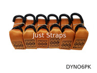 Just Straps® Dyno Replacement Strap 6 Pack 4 metre