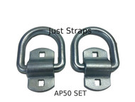 Just Straps Tie Downs Heavy Duty Anchor Plates set of 2