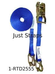 Just Straps® Tie Down 25mm Ratchet Strap Heavy Duty