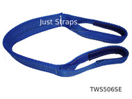 Just Straps Car Transport Axle Strap c/w Sewn Eyes