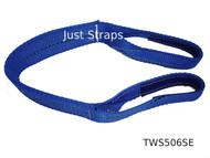 Just Straps® Car Transport Axle Strap c/w Sewn Eyes