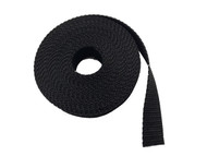 25MM Polypropylene 5 Metre Black