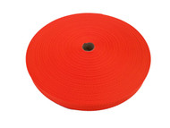 25 MM Polyester Webbing 50 Metre roll F/Orange