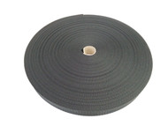 25 MM Polyester Webbing 50 Metre roll Black