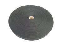 25 MM Polyester Webbing 50 Metre roll Black