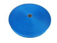 25 MM Polyester Webbing 50 Metre roll Aqua