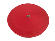 25 MM Polyester Webbing 50 Metre roll Red