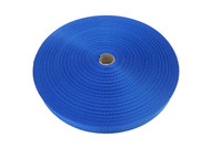 25 MM Polyester Webbing 50 Metre roll Blue