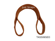 Just Straps Car Transport Axle Strap Orange c/w Sewn Eyes