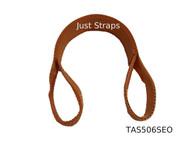 Just Straps® Car Transport Axle Strap Orange c/w Sewn Eyes