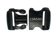 CSR50D Contour Side Release Buckle Double Ended