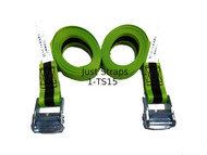 Just Straps® 36mm/3metre Cam Buckle strap