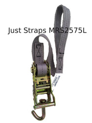 Just Straps 25mm Marquee Ratchet Strap 750mm c/w Loop