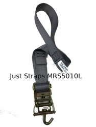 Just Straps 50mm Marquee Ratchet Strap 1metre c/w Loop