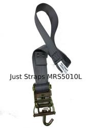 Just Straps 50mm Marquee Ratchet Strap 1metre c/w Loop