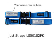 Just Straps Travel Luggage Bag Security Strap 2 Pack