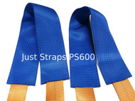 Just Straps Protector Sleeves Pair 600mm long